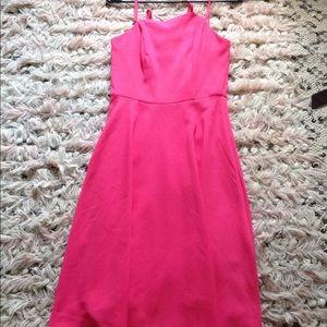 Pink Flared Dress